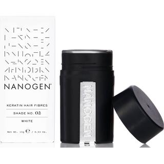 Nanogen Keratin Hair Fibres #02 White 15g