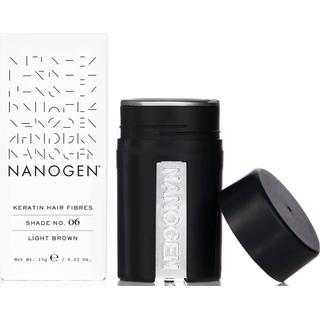 Nanogen Keratin Hair Fibres #06 Light Brown 15g