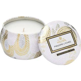 Voluspa Panjore Lychee Petit Tin Scented Candles
