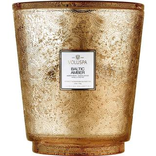 Voluspa Japonica Baltic Amber 5 Wick Scented Candles