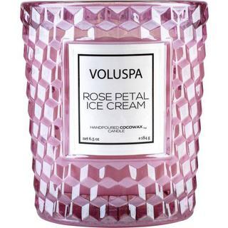 Voluspa Rose Petal Ice Cream Classic Candle Scented Candles