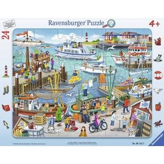 Ravensburger A Day At The Harbour 24 Pieces