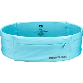 NATHAN The Zipster Running Belt - Light Blue
