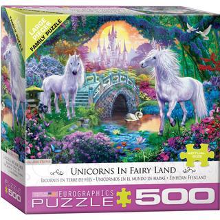 Eurographics Unicorn Fairy Land 500 Pieces