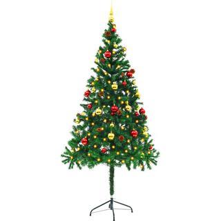 vidaXL 246393 180cm Christmas tree Christmas decorations