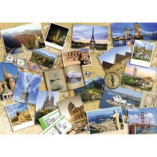 NATHAN Monuments of the World 1000 Pieces