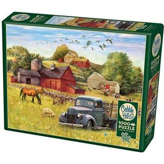 Cobblehill Summer Afternoon on the Farm 1000 Pieces