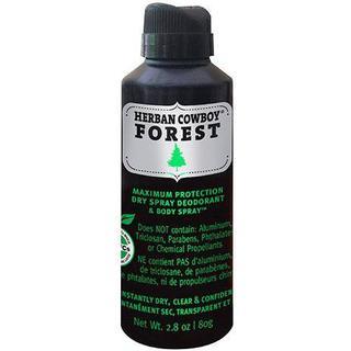 Herban Cowboy Forest Deo Spray 80g