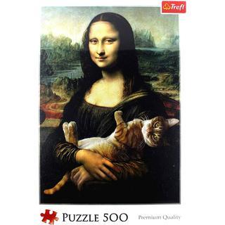 Trefl Mona Lisa & Cat Mruczek
