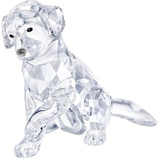 Swarovski Labrador Mother 6.8cm Figurine