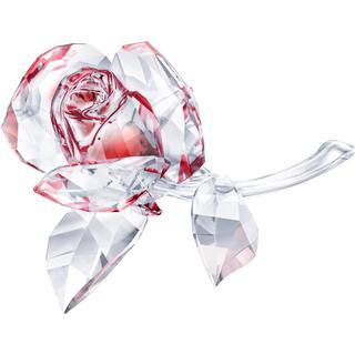Swarovski Blossoming Rose Red 9cm Figurine