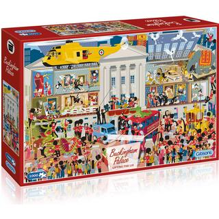 Gibsons Lifting the Lid Buckingham Palace 1000 Pieces