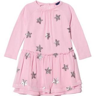 Tom Joule Rebecca Sequin Star Dress - Pink (323124)