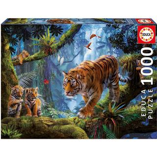 Educa Tiger in the Tree 1000 Pieces