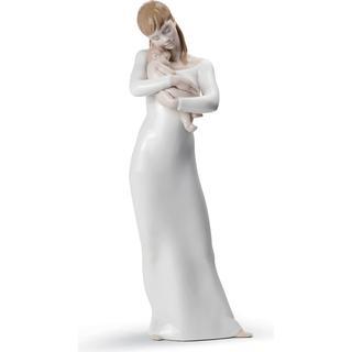 Lladro Goodnight My Angel Mother Figurine