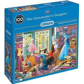 Gibsons The Dressmaker's Daughter 1000 Pieces