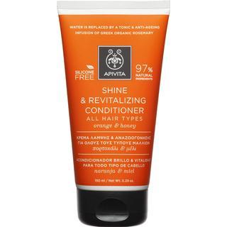 Apivita Holistic Hair Care Shine & Revitalising Conditioner Orange & Honey 150ml