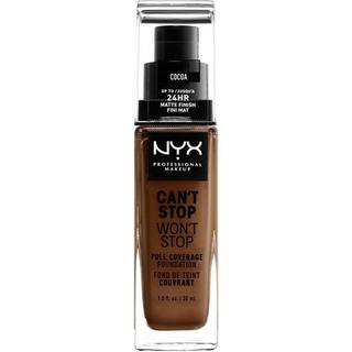 NYX Can't Stop Won't Stop Full Coverage Foundation CSWSF21 Cocoa