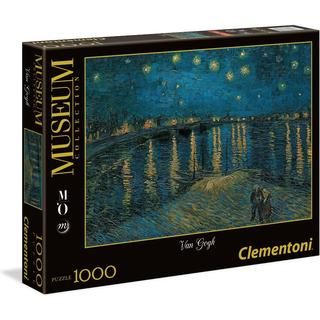 Clementoni Van Gogh Starry Night on the Rhone Museum Collection 1000 Pieces