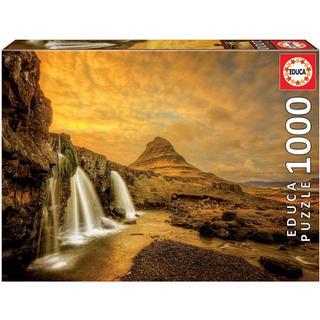 Educa Kirkjufellsfoss Waterfall Iceland 1000 Pieces