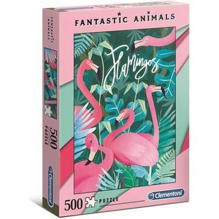 Clementoni Fantastic Animals Flamingo 500 Pieces