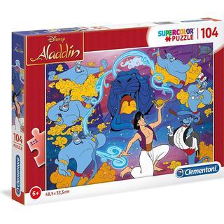 Clementoni SuperColor Disney Aladdin 104 Pieces