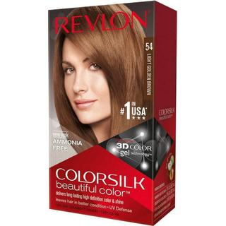 Revlon ColorSilk Beautiful Color #54 Light Golden Brown