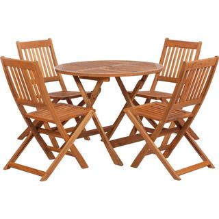 Royalcraft Manhattan Dining Group, 1 Table inkcl. 4 Chairs