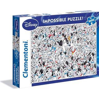 Clementoni Impossible 101 Dalmatians 1000 Pieces