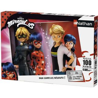 NATHAN Miraculous Lady Bug 100 Pieces