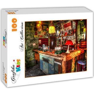Grafika Ruin Bar in Budapest 100 Pieces