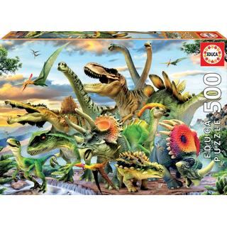 Educa Dinosaurs 500 Pieces