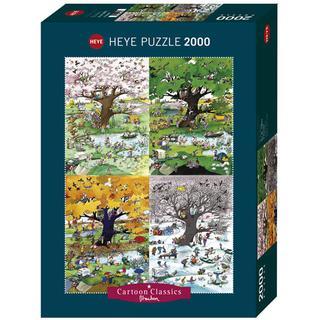 Heye 4 Seasons 2000 Pieces