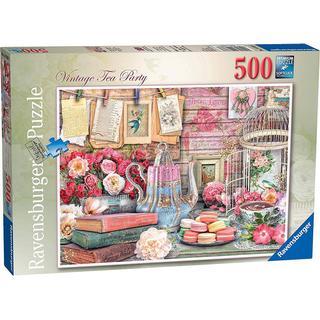 Ravensburger Vintage Tea Party 500 Pieces
