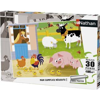 NATHAN Animals on the Farm 30 Pieces