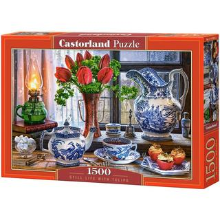 Castorland Still Life with Tulips 1500 Pieces
