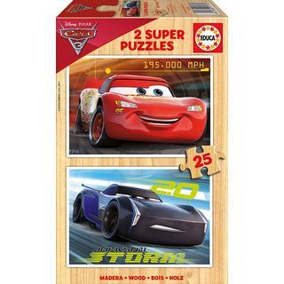 Educa Disney Pixar Cars 3 2x25 Pieces