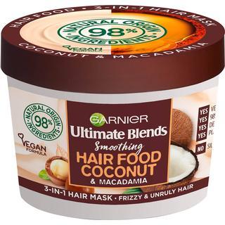 Garnier Ultimate Blends Hair Food Smoothing Coconut & Macadamia 3-in-1 Hair Mask 390ml