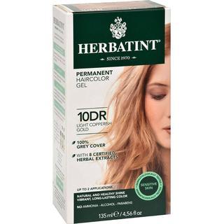 Herbatint Permanent Herbal Hair Colour 10DR Light Copperish Gold