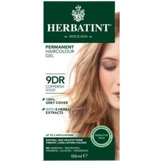 Herbatint Permanent Herbal Hair Colour 9DR Copperish Gold