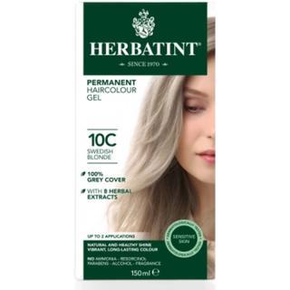 Herbatint Permanent Herbal Hair Colour 10C Swedish Blonde