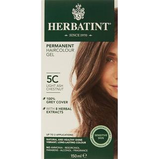 Herbatint Permanent Herbal Hair Colour 5C Light Ash Chestnut