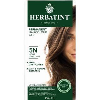 Herbatint Permanent Herbal Hair Colour 5N Light Chestnut