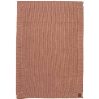 Elodie Details Wool Knitted Blanket Faded Rose