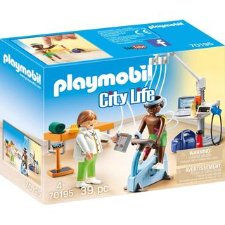 Playmobil City Life Physical Therapist 70195