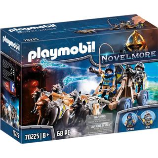 Playmobil Novelmore Wolfhaven Knights Water Cannon 70225