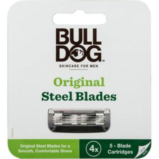 Bulldog Original Steel Blades 4-pack