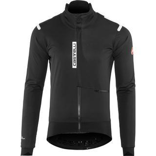 Castelli Alpha Ros Jacket Men - Light Black/Black