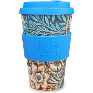 Ecoffee Cup William Morris Lily Travel Mug 40 cl 7 cm