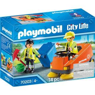 Playmobil City Life Street Sweeper 70203